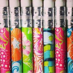 Lilly pencils. Never too far.