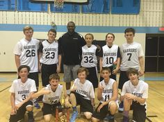 #ccbl2016 7th grade champs the Warriors!