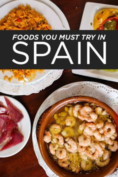to Eat in Spain - 15 Spanish Foods You Must Try Here's a list of Spanish Foods you must try when visiting Spain //Hères Hères is a commune in the Hautes-Pyrénées department in south-western France. Spanish Cuisine, Spanish Food, Spanish Eyes, Spanish Dishes, Spain Travel Guide, Valencia, Voyage Europe, Barcelona Spain, Barcelona Trip