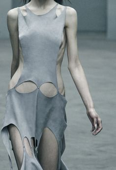 Ann-Sofie Back, F/W 2010  Model is scary skinny, but i adore the dress!