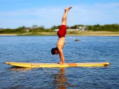 Paddle Board Yoga Video by Equinox - SUP YOGA