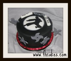 Another Ninja cake.....which one will Nicholos choose?????