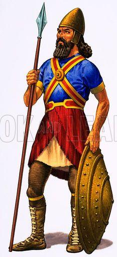 assyrian soldiers | Assyrian Warrior