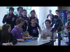 Nova marca mundial para resolver o Cubo de Rubik: 5,25 segundos