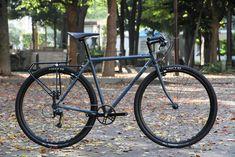 *SURLY*cross×check complete bike BLUE LUG custom