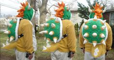 Spikey Bowser hoodie.