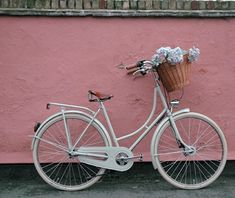 I so want a basket like this on my bike so I can pick flowers in a meadow and cycle gracefully along the lakefront.