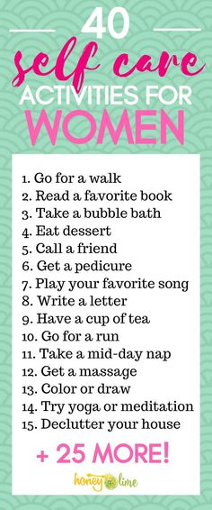 ideas list 40 Daily Self Care Ideas For Women - A Fabulous Self Care Activities List! 40 Daily Self Care Ideas For Women - This Self Care Activities List Is Fabulous List Of Activities, Self Care Activities, Activity List, Baby Care Tips, Skin Care Tips, Take Care Of Yourself, Improve Yourself, Care Quotes, Sport Quotes