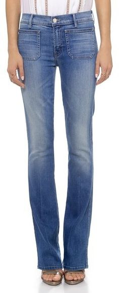 MOTHER The Patch Slacker Jeans