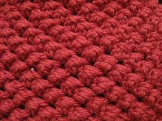 Raspberry Crochet Stitch Tutorial
