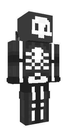 Pin By Maulana Zidane On Mencrep Minecraft Skins Minecraft Skeleton Skeleton