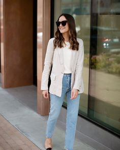 21 Best cream jeans images | How to wear, My style, Style