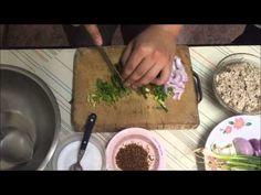 Larb Moo (Thai spicy pork salad) - YouTube