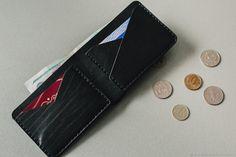 Купить Мини-бумажник (черный) в интернет магазине на Ярмарке Мастеров