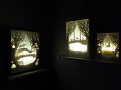 Hand Cut Illuminated Paper Art by Hari and Deepti