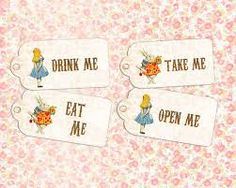 Items similar to Alice in Wonderland birthday party, eat me drink me tags, first birthday invitation, white rabbit queen of hearts mad hatter digital on Etsy Cat Birthday, First Birthday Parties, Birthday Party Themes, First Birthdays, Birthday Bash, Happy Birthday, Alice In Wonderland Printables, Alice In Wonderland Tea Party, Tea Party Theme