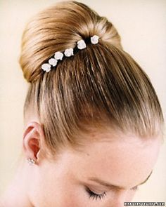 Sleek Wedding Hair Ideas | Martha Stewart Weddings