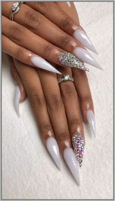 126 fabulous ways to wear glitter nails designs for 2019 summer! Dope Nails, Glam Nails, Bling Nails, Glitter Nails, Fun Nails, Fabulous Nails, Gorgeous Nails, Pretty Nails, Simple Fall Nails