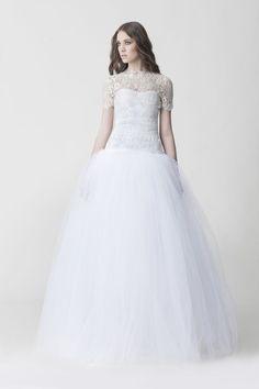 Romantic wedding ball gowns http://www.weddingchicks.com/makany-marta-midsummer-nights-dream-collection/