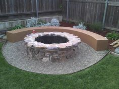 Image result for outdoor area with fire pit