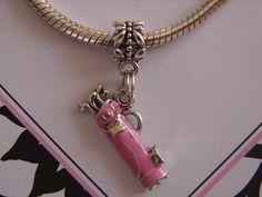 Pink golf clubs bag charm .... On my Christmas list :-)