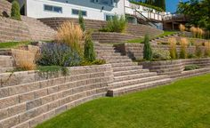 Retaining Wall Terrace and Stairs AB Collection