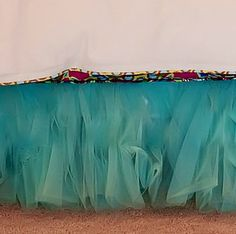 Anniston Tulle Bed Skirt, Aqua Blue - eclectic - kids bedding - by PoshLiving
