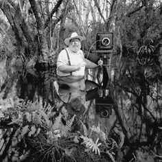 Clyde Butcher , Black and White Photographer. He Loves The Everglades and SW Fla. .