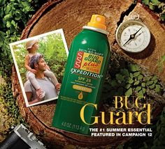 Avon Skin So Soft Bug Guard Plus IR3535® Expedition Aerosol Spray SPF 28 - Protects against gnats, no-seeums, sand flies and biting midges. • SPF 28 & SPF 30. • Dermatologist-tested. • Hypoallergenic. • With vitamin E.
