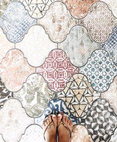 pastel pattern Tiles in pretty pastel patterns