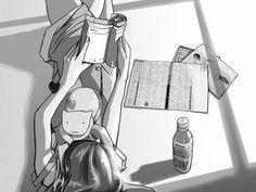 anime en blanco y negro  Buscar con Google  Shoujo
