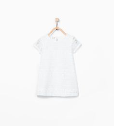 Guipure lace print dress from Zara Baby Girls