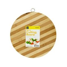 Round Bamboo Cutting Board ( Case of 1 )
