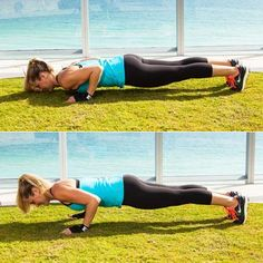 Pressing just halfway up makes this boxer's push-up variation even harder!