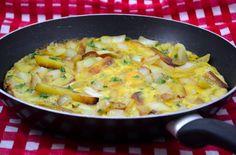 Damespraatjes kookt uit Melk en Dadels: Tortilla Francesa