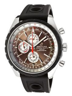 Automatic Chrono Stainless Steel Watch by Breitling at Gilt