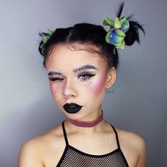 Ultimate cutie @snitchery wearing 'Black Velvet' Velvetine  Available on limecrime.com #limecrime #velvetines