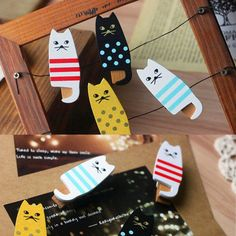 Cat bag clips - a cute gift for cat lovers