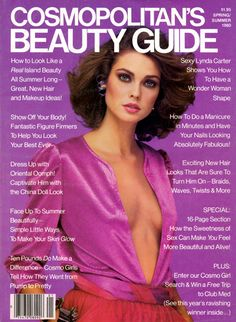 Carol Alt covers  Cosmopolitan Beauty Guide Magazine (Us) Spring Summer 1980