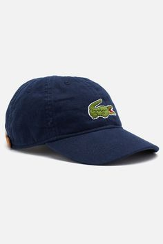 e814e093044 Lacoste Boy s Gabaradine Large Croc Cap   Accessories Designer Plus Size  Clothing