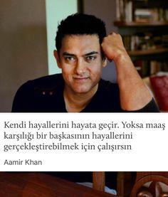 Kendi hayallerini hayata geçir. Yoksa maaş karşılığı bir başkasının hayallerini gerçekleştirebilmek için çalışırsın. - Aamir Khan (Kaynak: Instagram - kitapklubu) #sözler #anlamlısözler #güzelsözler #manalısözler #özlüsözler #alıntı #alıntılar #alıntıdır #alıntısözler #şiir #edebiyat