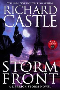"""Castle's New Novel """"Storm Front""""  Actually brilliant - a Derrick Storm book"""