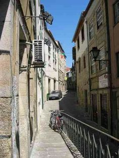 Rua Escura, Viseu, Portugal