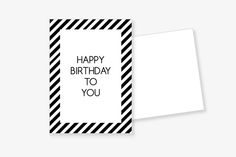 "PostKARTE+""Happy+Birthday""+mit+Umschlag+von+Frau+B.+-+PapeterieSHOP+auf+DaWanda.com"