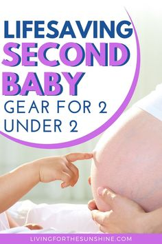 If you are expecting a #secondbaby this list of #babygear will help you manage your little ones. Life with #2under2 will be so much easier with this list of baby items. Also perfect for third or fourth babies! #secondchild #twoundertwo Second Baby, Second Child, Baby Up, Baby Must Haves, Baby Development, Mom Advice, Tummy Time, Newborn Care, Baby Hacks