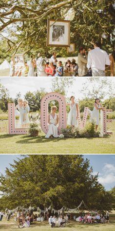 uk farm weddings | An Epic DIY Bohemian Wedding At Ratfyn Farm With A Jenny Packham Dress ...