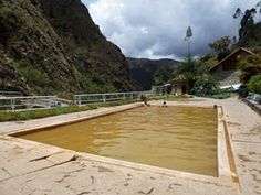 The hot springs of #Lares in #Peru.