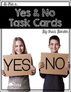 how to teach yes no questions