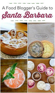 Food Blogger's Guide to Santa Barbara - where to eat and what to see in Santa Barbara, Solvang, and Santa Ynez. Visit Santa Barbara, Santa Barbara California, Santa Barbara County, Northern California, Utah, Santa Ynez, Fabulous Foods, Foodie Travel, Places To Eat