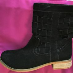 Urban Outfitters Ecoté black boots suede Worn literally once perfect condition suede black boots from urban outfitters. Gorgeous and amazing high quality. You won't be disappointed! Urban Outfitters Shoes